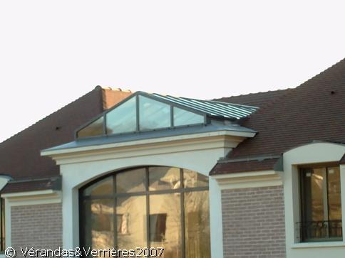 defi m tallerie mise en place de toitures de v randas. Black Bedroom Furniture Sets. Home Design Ideas