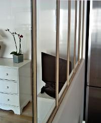 Defi m tallerie verrieres d 39 int rieur et portes - Verriere d interieur en bois ...